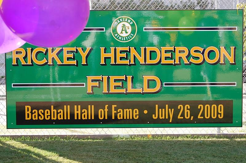 Rickey Henderson Field
