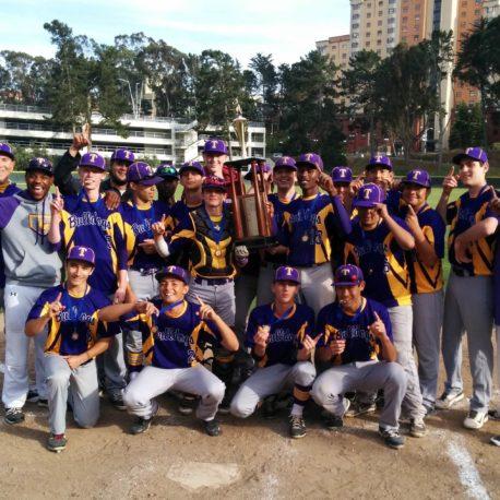Oakland Tech Varsity Baseball 2016 Transbay Series Champions